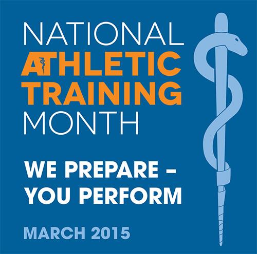 National Athletic Training Month Logo 2013