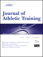 Journal of athletic training cover