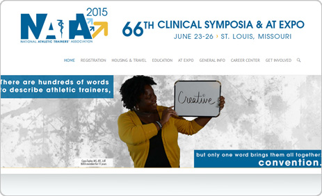 NATA 2015 Website