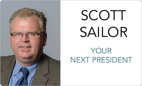 Scott Sailor Wins Presidential Election