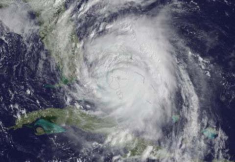 Hurricane Matthew image for ATs Care blog
